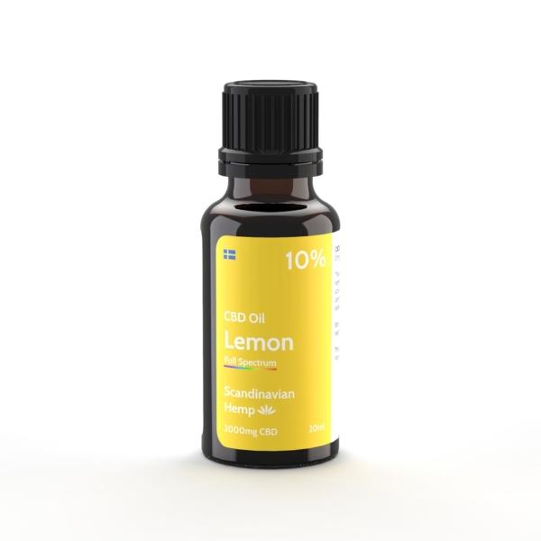 Óleo de CBD 10% - citrus, 20 ml