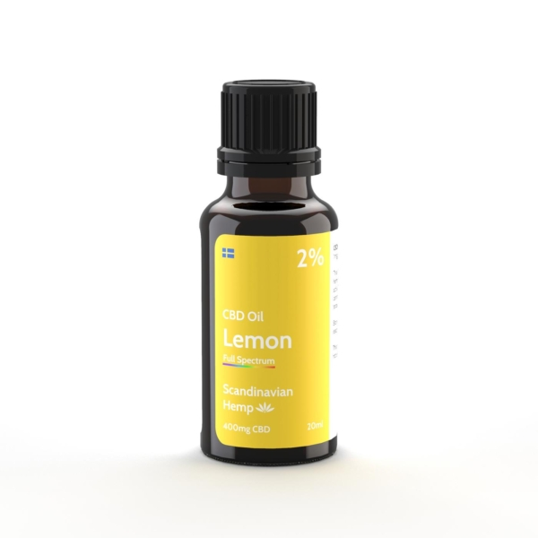 Óleo de CBD 2% - citrus, 20 ml