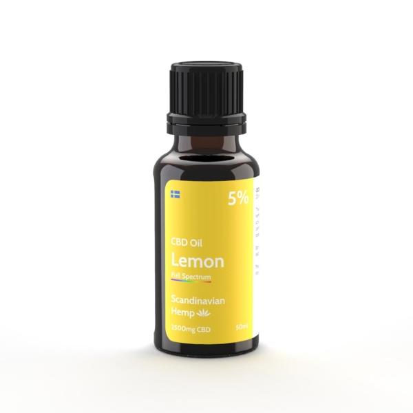Óleo de CBD 5% - citrus, 20 ml